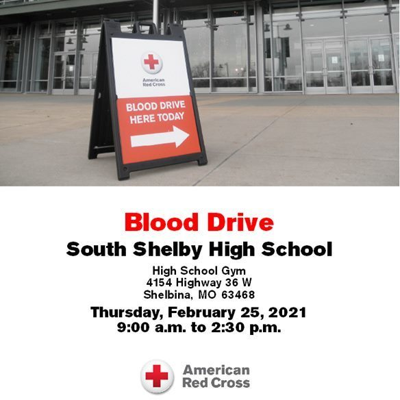 South Shelby National Honor Society to Host Annual Blood Drive